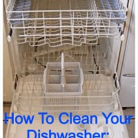 How to Clean Your Dishwasher!