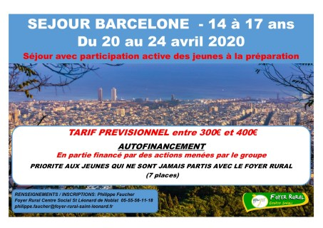 Affiche barcelone-