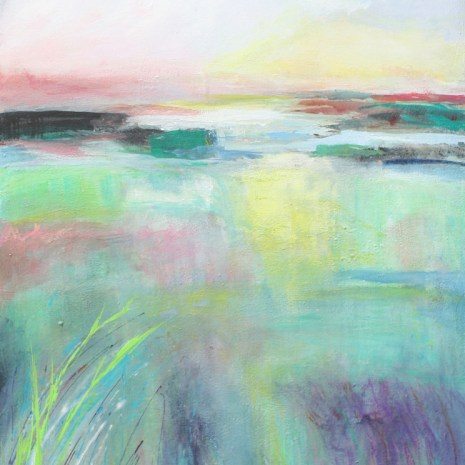 Sharon Collins_Spring Marshes_Acrylic_2020_30x20