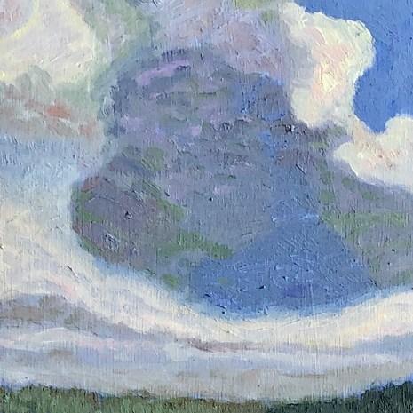 Angie Barrados_Blue Sea Cloud_2020_oil_10x8x0.1