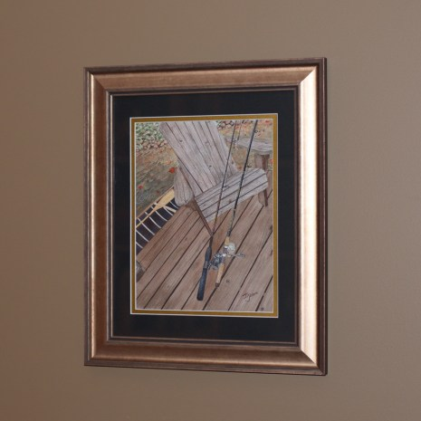 Isabelle_Jerome_His and Hers_2020_watercolour_15x13_frame