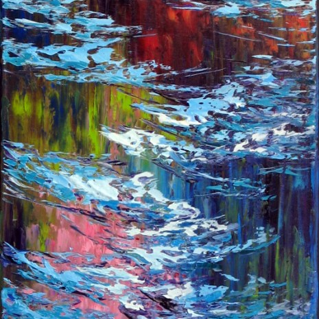 Margaret Chwialkowska_Reflection, Gatineau_oil