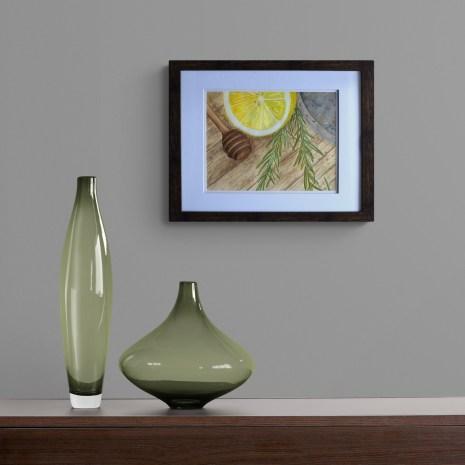 Lemon_with_vases_dark_wall