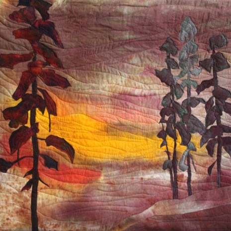 Sharon Collins_After the Storm_Textile_28x42_$700
