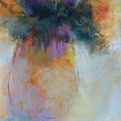 Paul_Vincent_Still Life Abstraction I_11x8x1_Pastel_85
