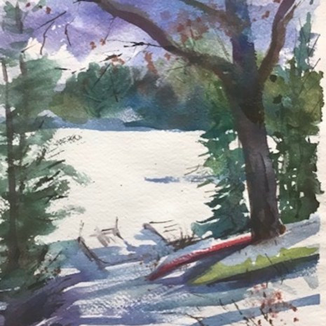 Leslie_Blackwell_Gatineau_River_Shore__Winter_Wate