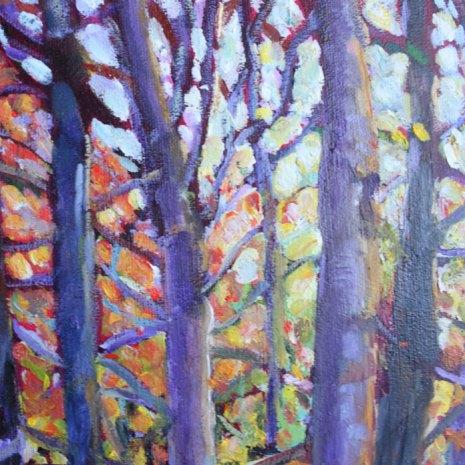 Christiane_Kingsley_Forest_Kaleidoscopedetail1_oil