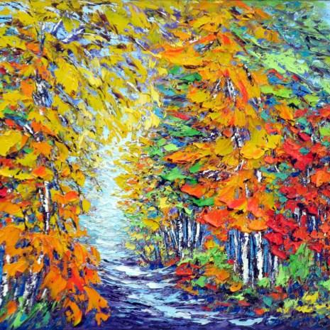 Margaret_Chwialkowska_Gatineau_in_Autumn_oil_14x18