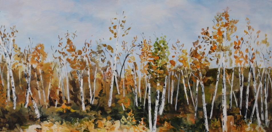 Marie_Arsenault_Birch_Forest_acrylic_24X12X1.5__42