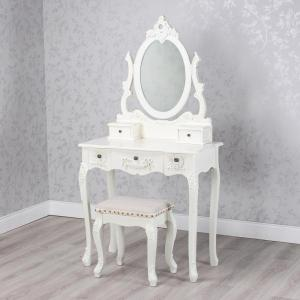 Natalie Dressing Table With Stool