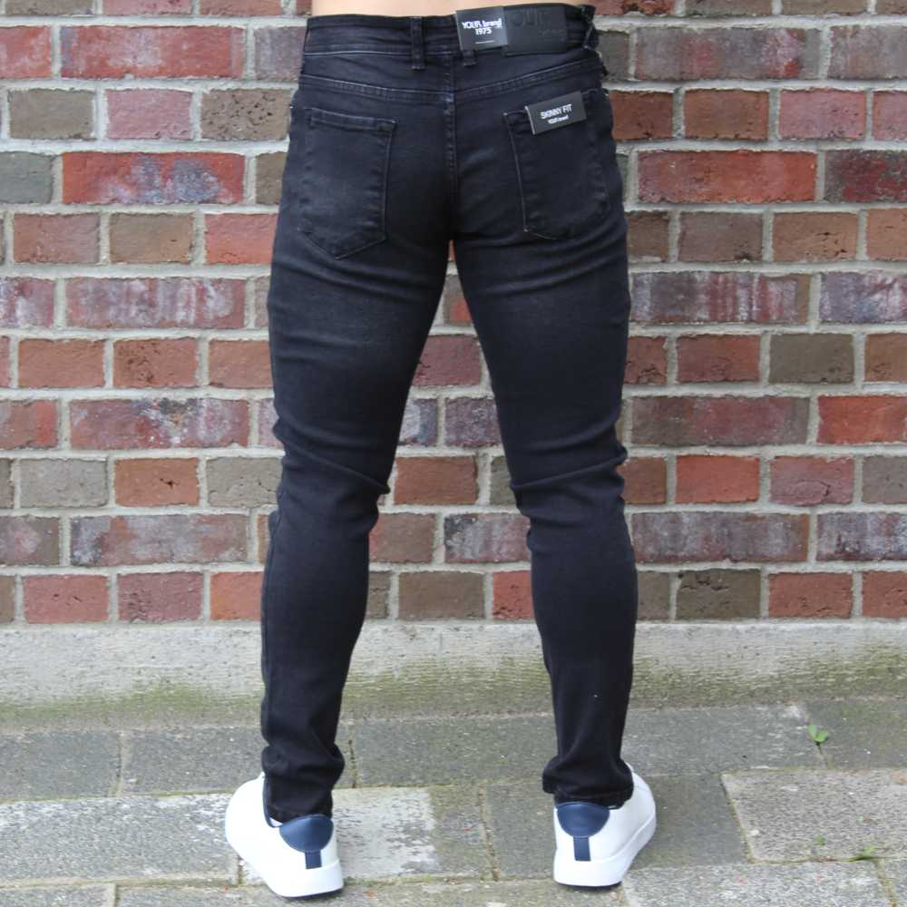 Jeans Slim Fit Black 2