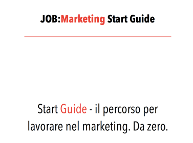 JOB Marketing Start Guide fpastoressa