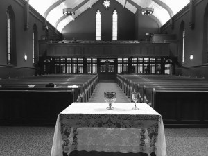 image of sanctuary communion