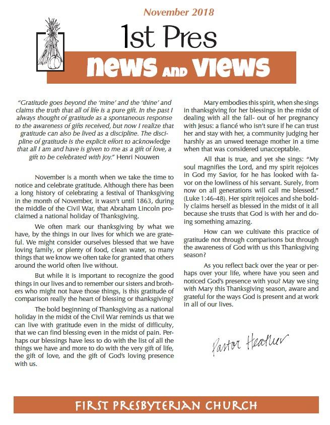 November News and Views image