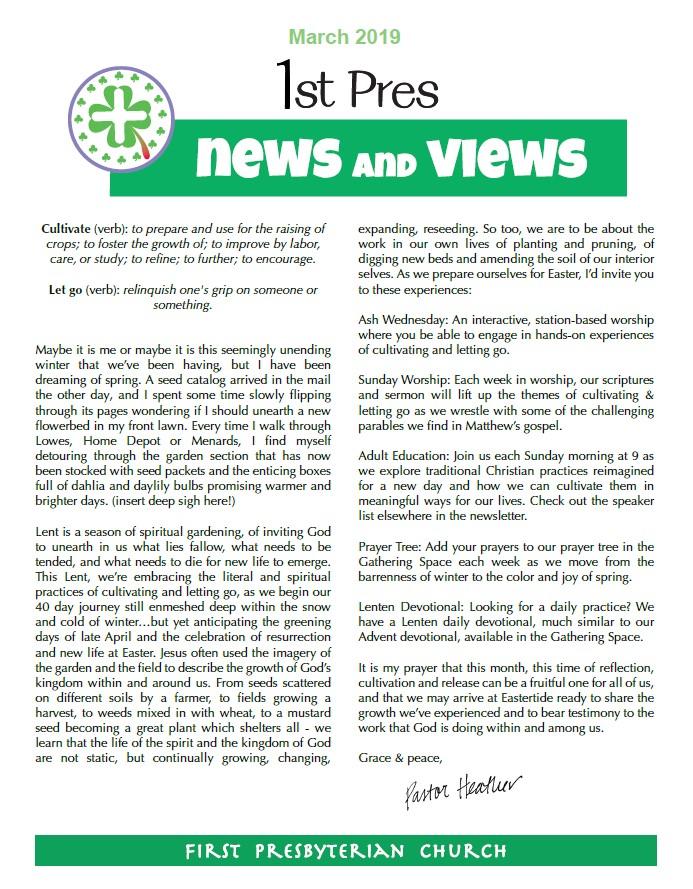 May News and Views Image