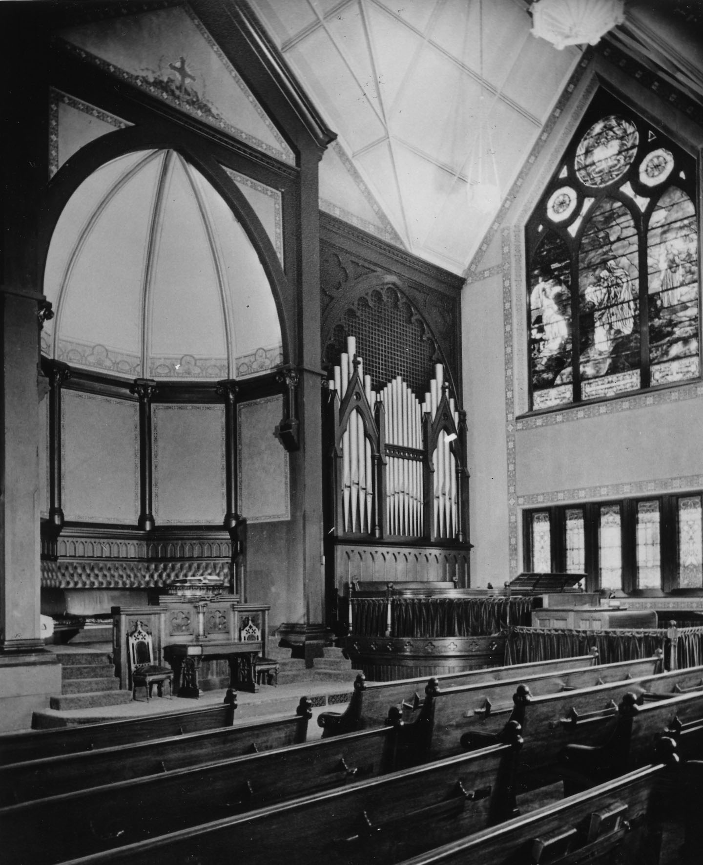 image of sanctuary in 1930