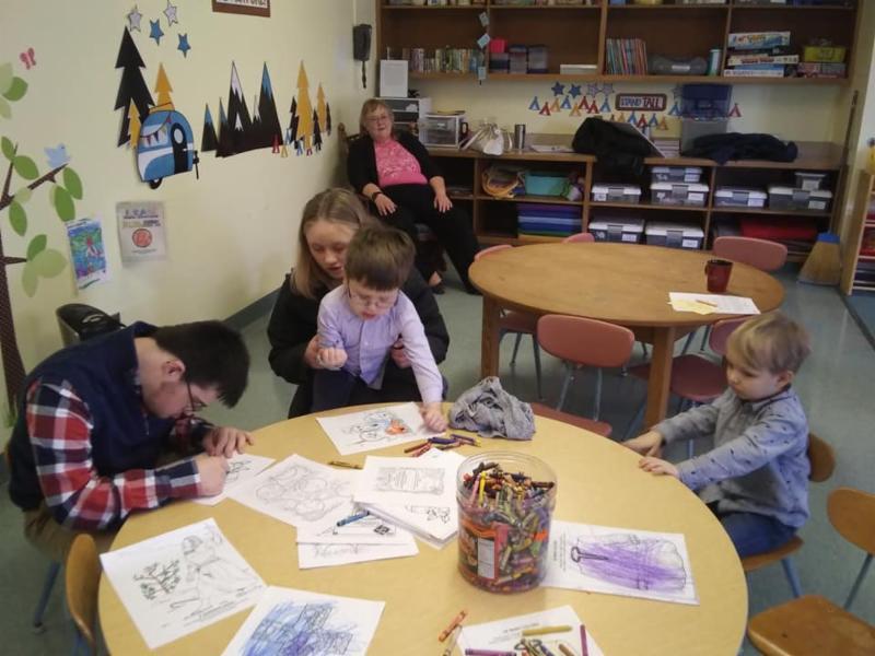 fun activities in Sunday School