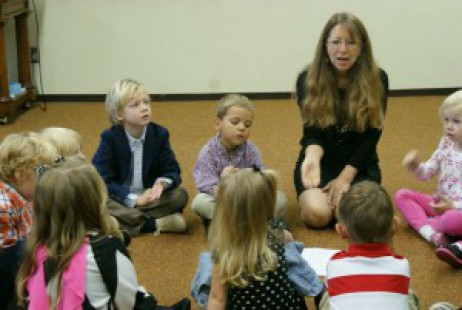 Pictures of Sunday School classes at First Presbyterian Church