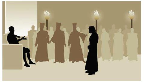 3-18-2018 Jesus and Pilate