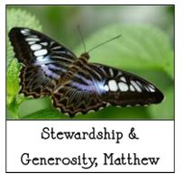 8-19-2018 Stewardship and Generosity - Matthew