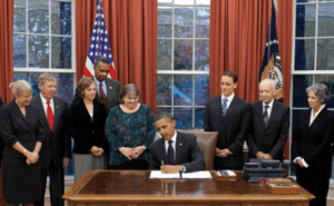 Obama signing KP Act