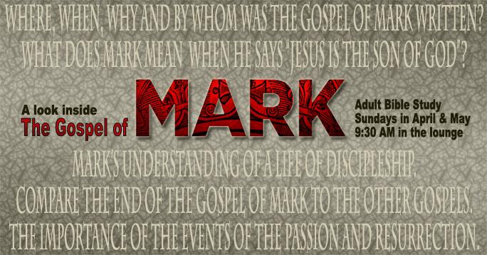 Gospel of Mark - POST