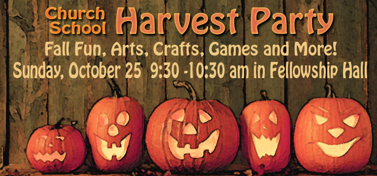 Harvest Party Graphic