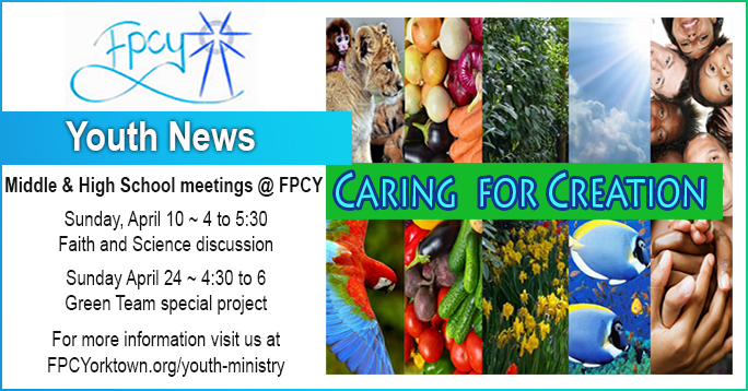 Youth News  APRIL 2016 POST