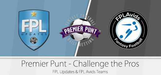 Premier Punt - Challenge the Pros - FPL Updates & FPL Avids teams
