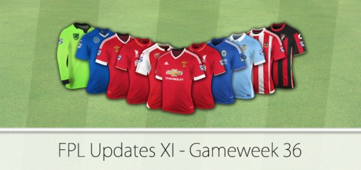 FPL Updates XI Gameweek 36