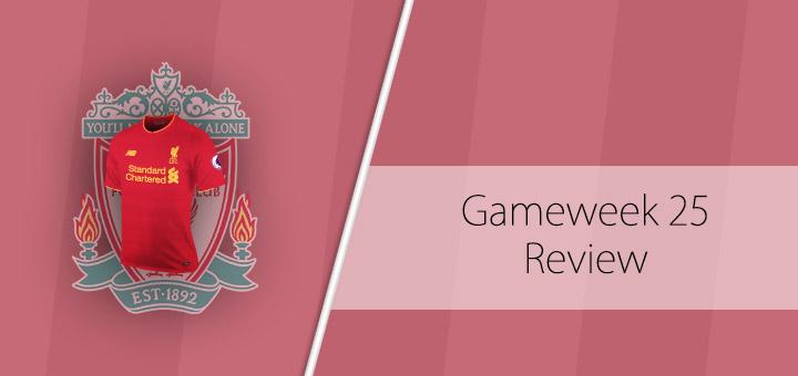 FPL Gameweek 25 Review