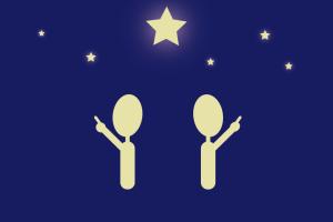星と個人個人