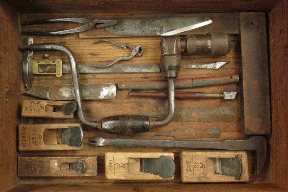 昔の木工用の道具