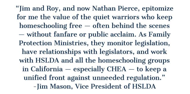 HSLDA Vice President Jim Mason says