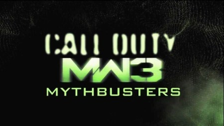 Modern Warfare 3 Mythbusters