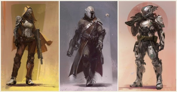 Destiny:公式設定画集「The Art of Destiny」の日本語版が予約受付開始