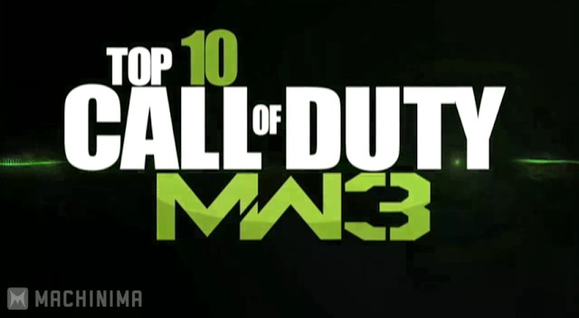 [MW3] 10位ですでに凄すぎる、「INFECTED」でのナイスプレイTOP10!4位は必見