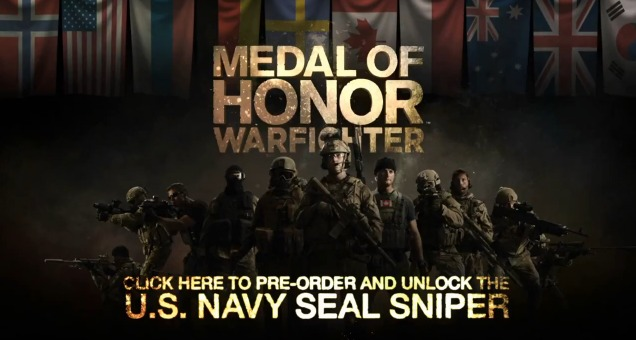 『Medal of Honor: Warfighter』はマルチプレイヤーでco-op!新システム&最新トレイラー公開