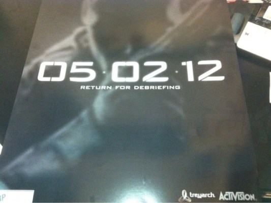 [BO2] 『Call of Duty: Black Ops 2』公式ポスター流出。5月2日に何らかの大きな発表か