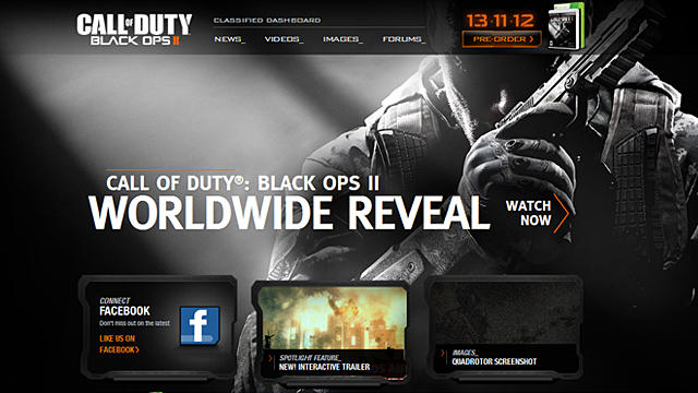 [BO2] 『CoD:Black Ops Ⅱ』公式サイトがお漏らしオープン!21世紀の冷戦を描くことが判明!