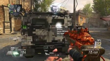 CoD:BO2:「超」突撃型SMG、2分台でニュークリア獲得動画