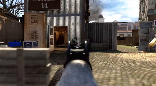 CoD:BO2: リメイクされたマップ「Firing Range」の新旧比較画像