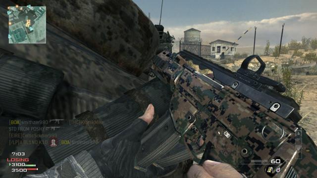 "[MW3] 『Modern Warfare 3』新たな武器迷彩""MARINE""と""WINTER""が追加!"
