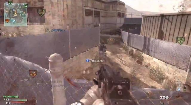 [MW3] MP5でMOAB!しかもサイレンサーなし 3:30