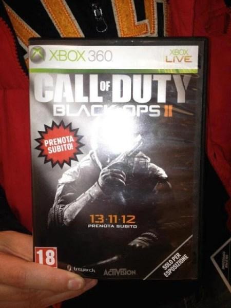 [BO2] 『CoD:Black Ops 2』鮮明な店舗用ボックスアート流出!