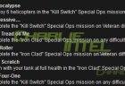[MW3] 次期スペシャルオプスのミッションは「Iron Clad」と「Kill Switch」