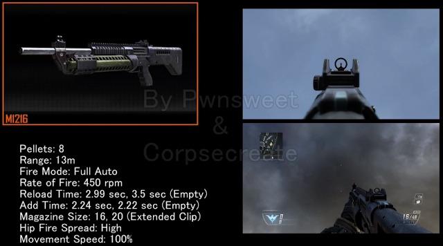 [BO2] 『Black Ops 2』全武器のステータス解説動画(6本)