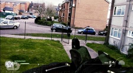[MW3] おもしろ:「リアルでトリックショット決めてみた」Search & Destroy再現動画