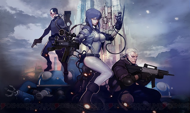 攻殻機動隊FPS「GHOST in the SHELL S.A.C. ONLINE(仮)」発表