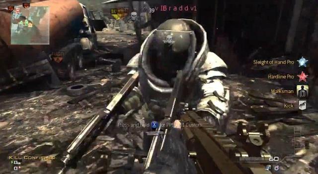 [MW3] グリッチ(裏技):凶悪ハック部屋動画。大量ジャガノ、リス位置固定、MOAB…